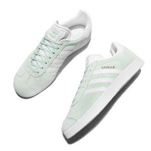 Women's Adidas Gazelle Mint Green